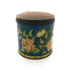 Vintage Cadburys Chocolate Tin Tin Canister by TwoTimeVintage