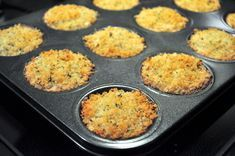 baked crab cakes - I use muffin tins for salmon cakes too! Baked Crab Cakes, Tuna Cakes, Salmon Cakes, Crab Cake Recipes, Gf Recipes, Fish Recipes, Cooking Recipes, Salmon And Rice, Best Seafood Recipes