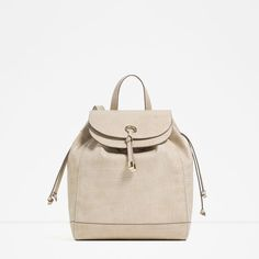 Image 1 of METAL DETAIL BACKPACK from Zara