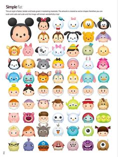 Stitch Kingdom — Official Tsum Tsum style guides (x) Not following... Cute Disney Drawings, Kawaii Drawings, Easy Drawings, Tsum Tsum Party, Disney Tsum Tsum, Tsum Tsum Princess, Kawaii Disney, Disney Kunst, Disney Art