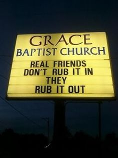 inappropriate church signs