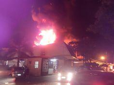 JORNAL O RESUMO - DETALHES E FOTOS - JORNAL O RESUMO: Detalhes e fotos do incêndio das lojas PJota Cente...