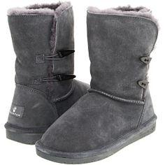 Oooh cute!! Bearpaw boots in gray