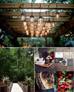 For our eco-loving boho brides, we've got beautiful woodland forest wedding inspiration and decor ideas!