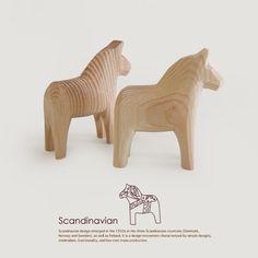 Dala horses | hand made swedish horses