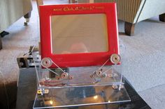 Arduino Etch-A-Sketch Clock - Now THAT is cool.