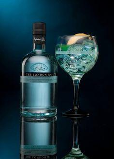 London Nº1 Gin (perfect dserve con nordic mist blue y naranja)