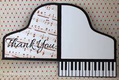 piano-inside by krafting kelly Fancy Fold Cards, Folded Cards, Cool Cards, Diy Cards, Musical Cards, Card Making Templates, Easel Cards, Card Sketches, Crafty Projects