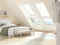 Find loft conversion companies fast and compare cost of loft conversions inc dormer, mansard, velux and hipped. Save plus on loft conversion costs. Attic Loft, Attic Apartment, Dormer Loft Conversion, Home Bedroom, Urban Interiors, Bedroom Interior, Bedroom Design, Home Decor, Bedroom Loft