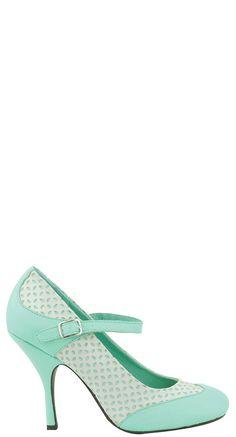 TUK Shoes Minty Sweet Bombshell Heel | Blame Betty