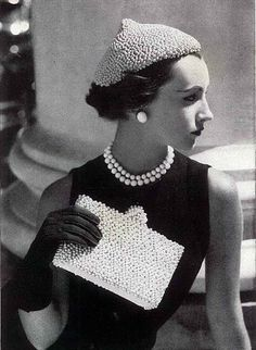 Pride and Pearls: 1940's-1950's Classic Vogue Fashion