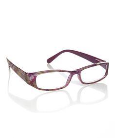 Purple & White Abstract Splash Readers