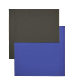 6. Scot Heywood, 'Shift - Grey, Blue', acrylic on canvas, 60 x 50