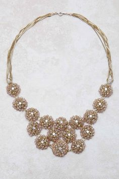 Rose Crystal Isabella Necklace