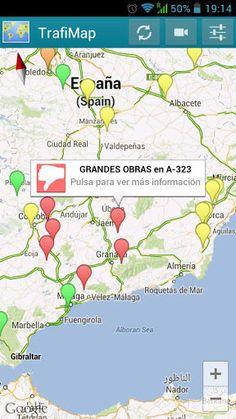 TrafiMap es una increíble aplicación que te permite ver todas las incidencias de tráfico en tu zona con los datos más actualizados: carreteras cortadas por obras, por accidentes, por problemas meteorológicos, etc. Además, TrafiMap te da acceso a cientos de cámaras situadas en las principales vías de España para comprobar la congestión del tráfico.<p>Requiere tener Google Maps instalado en tu dispositivo para un correcto funcionamiento.