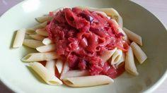 Vegane Küche - vegan kochen ist nicht schwer: Rote Bete Sauce für Nudeln und Spaghetti