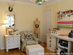 Organization and Storage for the Home Office, Craft, Sewing Room