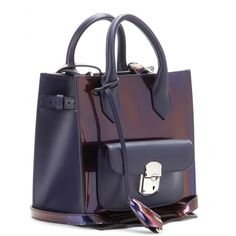 mytheresa.com - Padlock Mini All Afternoon patent leather tote - Totes - Bags - Balenciaga - Luxury Fashion for Women / Designer clothing, shoes, bags