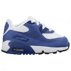 Fresh Colorway Nike Air Max 90 GS WhitePhoto Blue Black Pink Blast