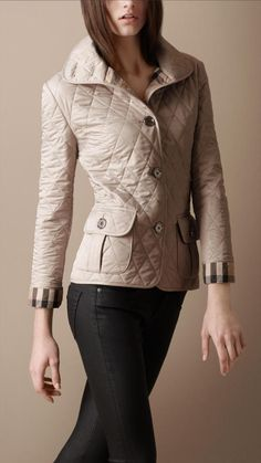 Burberry Quilted Jacket....a classic!