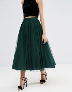 ASOS Tulle Prom Skirt with Multi Layers $76.00