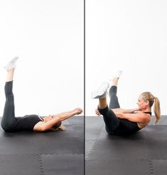 Abs Workout: 5-Minutes to a Flat Stomach - Do this quick circuit after cardio (or before the beach) for a swimsuit-ready stomach!
