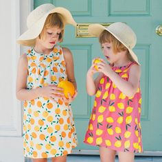 Poppy and Olive, reunited on our last Charleston trip!  They immediately began playing hide and seek like old friends.  Thanks to @czarinasproject for the cutest little summer dresses.