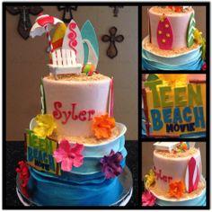 Teen Beach Movie Birthday Cake! https://www.facebook.com/BlissPops