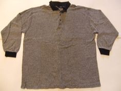 EXPRESSIONS Men's Shirts Size-XL Gray Very Good! #EXPRESSIONS #ButtonFront