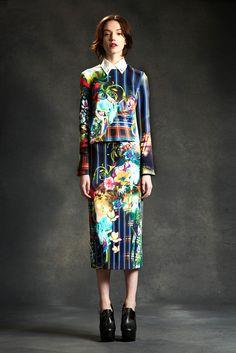 New York Fashion Week: Clover Canyon. Fall 2014.