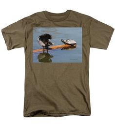 Purchase an adult t-shirt featuring the image of Nice Log You Have Here by Tom Janca.  Available in sizes S - 4XL.  Each t-shirt is printed on-demand, ships within 1 - 2 business days, and comes with a 30-day money-back guarantee.