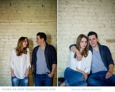 Casual & romantic anniversary shoot- denims, white & grey outfits | Emilie Iggiotti Photography