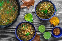Mediterranean Spicy Spinach Lentil Soup Recipe | The Mediterranean Dish. A nutritious, flavor-packed lentil soup that comes together in minutes. Following the Mediterranean diet is easy with meals like this lentil soup!