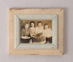 Marco vintage de madera - accesorios y decoración del hogar - hecho a mano en DaWanda.es