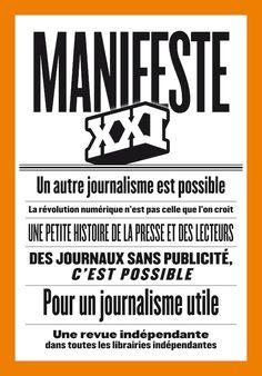 Manifeste XXI, un autre journalisme est possible