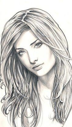 Susan coffey by ~losromanos on deviantart Pencil Drawings Of Girls, Realistic Pencil Drawings, Cool Art Drawings, Beautiful Drawings, Art Drawings Sketches, L'art Du Portrait, Portrait Sketches, Pencil Portrait, Portraits