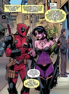Umm. People use them for other, much more practical and a lot less indecent things than that Deadpool.