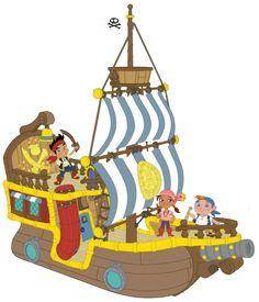 Imágenes de Barco de Jake y Los Piratas