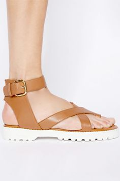 14 Last-All-Day Sandals To Rely On #refinery29  http://www.refinery29.com/comfortable-sandals#slide9  Pixie Market Stockholm Leather Sandals, $99, available at Pixie Market.