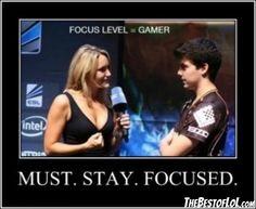 Stay focused xPeke!