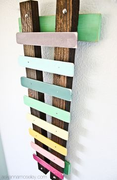 Make a Xylophone from paint sticks