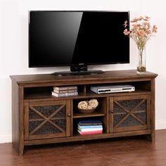 Sunny Designs Savannah Antique Charcoal TV Console - 3546AC-62
