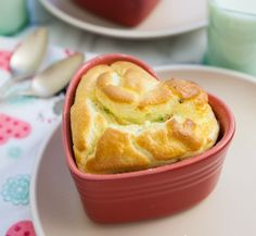 Bacon and Chive Soufflé ~