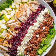 Recipes - NatashasKitchen.com Mango Avocado Salad, Avocado Chicken Salad, Chicken Salad Recipes, Salad Recipes Video, Salad Recipes For Dinner, Healthy Salad Recipes, Delicious Recipes, Healthy Foods, Easy Recipes