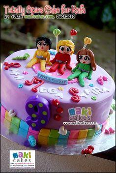 Totally Spies Cake for Rafa Mega Safira_ - Maki Cakes by *Yulia*, via Flickr