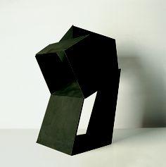 Jorge Oteiza - Circulación en oblicuo con tres vacíos Malevich, 1958