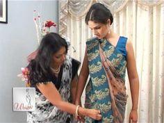 11 Casual Ways to drape a Saree - LooksGud. Sari Draping Styles, Saree Styles, How To Wear A Sari, Saree Wearing, Drape Sarees, Dior, Desi Wear, Diva Fashion, Fashion Wear