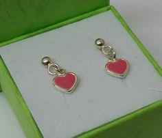 Ohrstecker - Herz Ohrstecker Ohrringe Herzchen 925 Silber KO139 - ein Designerstück von myduttel bei DaWanda