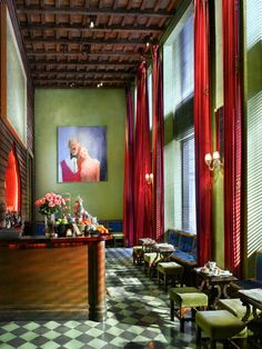 @Melissa Howden for a bit more colore GRAMERCY PARK HOTEL