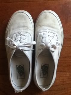 PLEASE READ!! I got some Vans from my cousin and I want to paint them. Can some of my followers DM me their ideas and help me decide what to do?